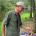 Meet Larry Everett; a fun guy having a really great time with the Fungi!